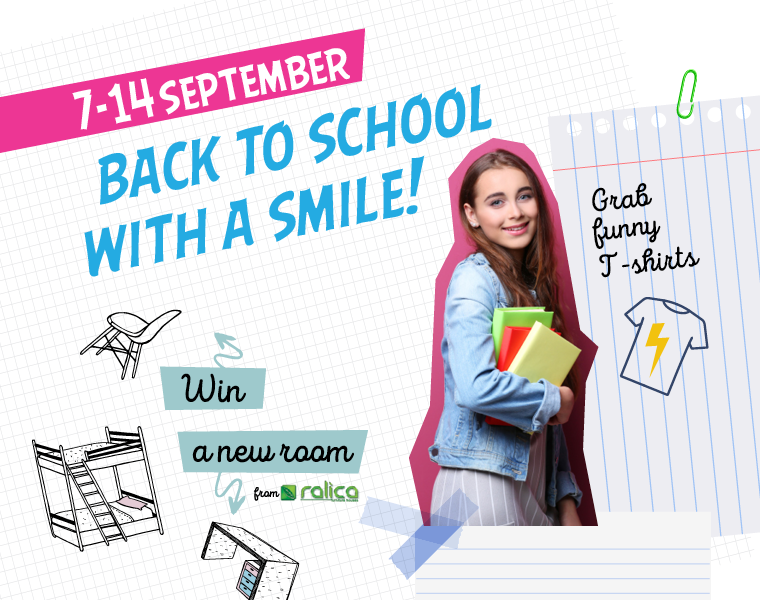 Back to school with a smile!