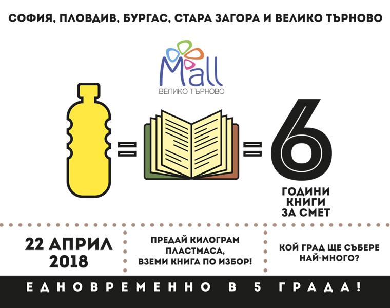 """""""Книги за смет"""" едновременно в 5 града на 22 април"""